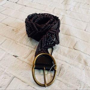 Liz Claiborne Ladies Woven Belt L/XL